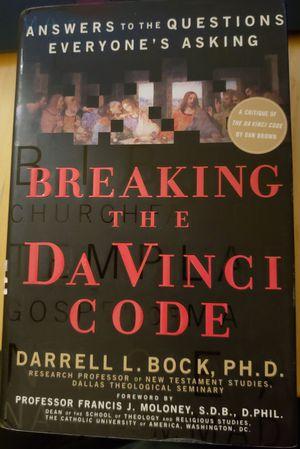 Breaking The Da Vinci Code - A Critique of The Da Vinci Code by Dan Brown for Sale in Spring Valley, CA