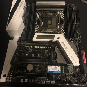 Asus Prime Deluxe II Motherboard for Sale in Naugatuck, CT