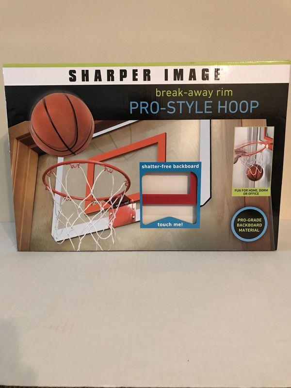 Pro Style Basketball Hoop w/ Shatter Free Backboard