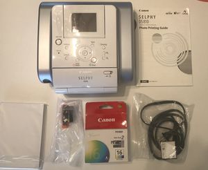 Canon Selphy Photo Printer for Sale in Grayslake, IL