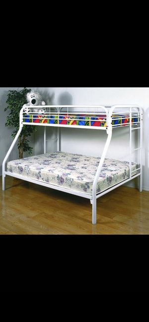 Brand new Twin Full Bunk Bed in Box for Sale in Milwaukee, WI