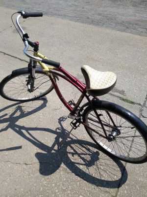 3 speed coaster brake Cruiser bike with suspension fork for Sale in Chicago, IL
