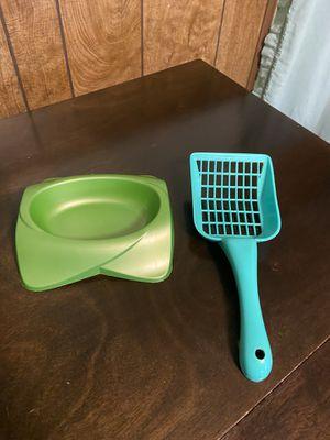 Pet bowl and pooper scooper. for Sale in Binghamton, NY
