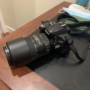 Nikon 5100, Nikon 55-300 Lens, Two Batteries for Sale in Stanford, CA