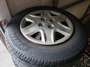 #CIVIC STEEL RIMS! 4 X 100 W/HUBCAPS$MUST SELL NOW! for Sale in Heathrow, FL
