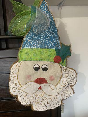 Santa door hanger for Sale in Keller, TX