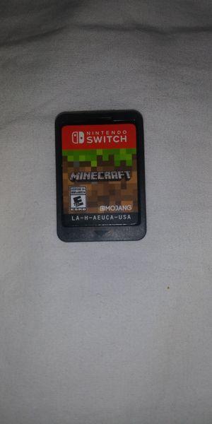Nintendo switch minecraft for Sale in San Diego, CA