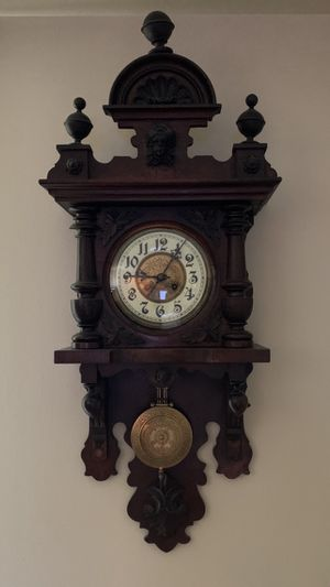 Antique Clock - German Wag Clock for Sale in Silver Spring, MD