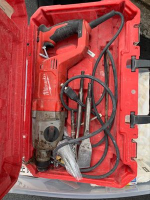 Milwaukee rotary hammer drill for Sale in Pompano Beach, FL