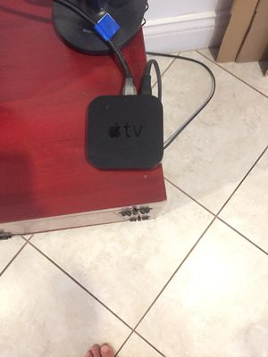 Apple TV Very good condition for Sale in Boca Raton, FL