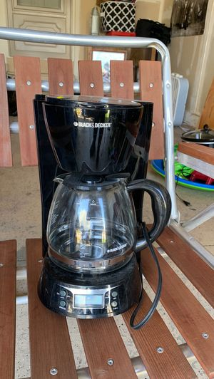 Black and Decker coffee maker for Sale in Superior Charter Township, MI