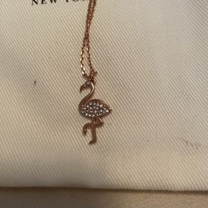 Rose gold Kate Spade Flamingo Necklace for Sale in Scottsdale, AZ