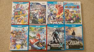 Wii and Wii U Games for Sale in Lynnwood, WA