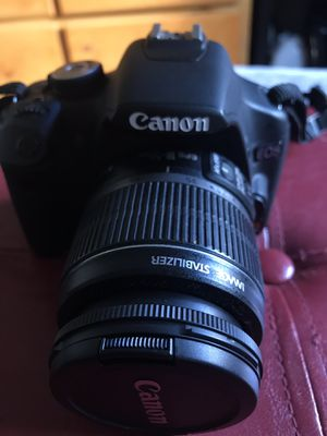 Canon T1i camera with 18-55mm & 55-250mm lenses for Sale in Lynwood, CA