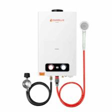 Forest Hipping Portable Tankless Gas Water Heater for Sale in Carleton, MI