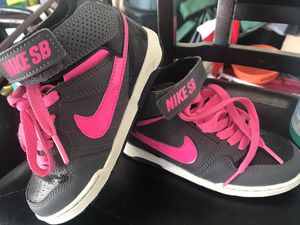 Nike shoes little girls size 11 for Sale in Haines City, FL
