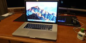 MacBook Pro 15 Early 2011 i7 8gb 256gb SSD for Sale in Denver, CO