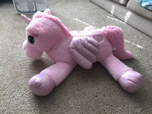 Giant pink unicorn stuffed animal for Sale in Denver, CO