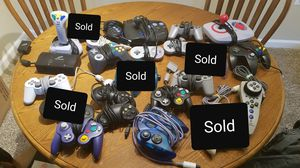 Lot of Video Game Controllers for Sale in Alexandria, VA