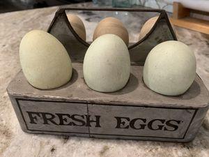 Farmhouse egg tray for Sale in Pineville, LA