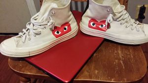 comme des garçons converse for Sale in Milwaukee, WI
