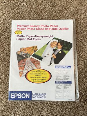 Epson Premium Glossy Photo Paper for Sale in Monroeville, PA