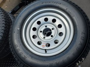 Trailer Tires with rims for Sale in Lawrenceville, GA
