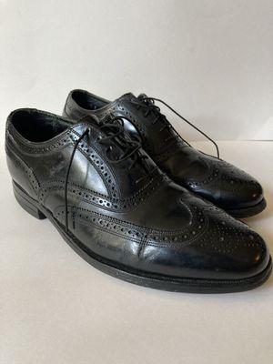 Florsheim Imperial Wingtip Black Leather Dress Formal brogue Shoes 9.5e 92329 for Sale in Phoenix, AZ