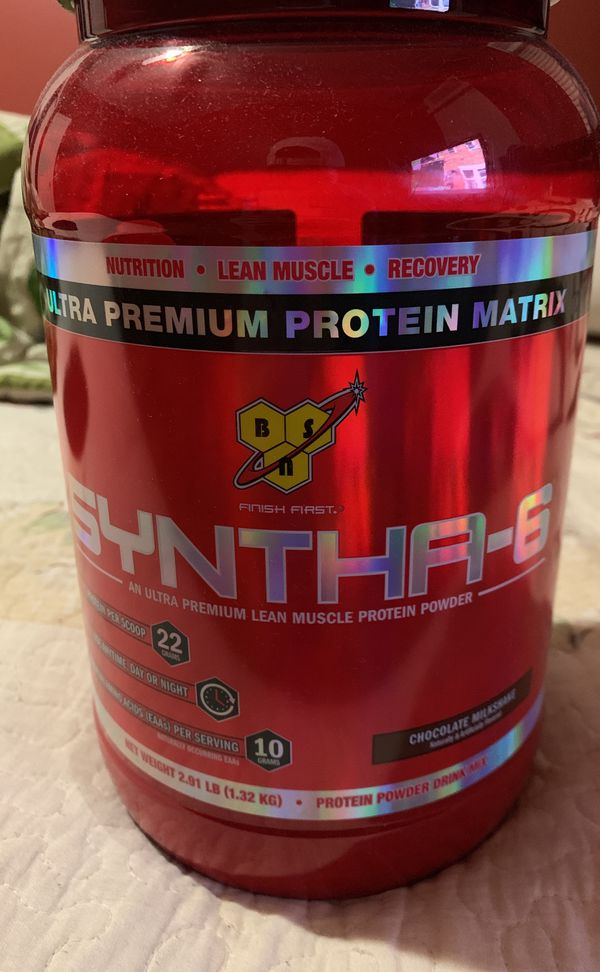 Synths-6 pre workout new used just opened