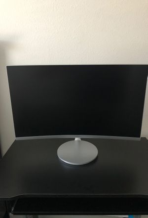 27 inch LED Curved FHD FreeSync Monitor for Sale in Tampa, FL