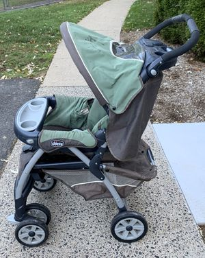 Chicco Cortina Stroller: Green & Brown for Sale in Bergenfield, NJ