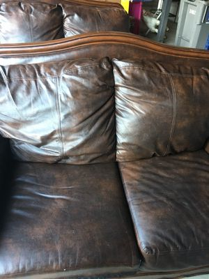 Brown couch and loveseat for Sale in Darrington, WA