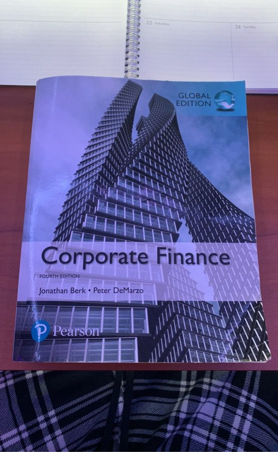 Corporate Finance Textbook - Fourth Edition
