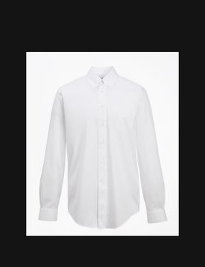 Men's white button down dress shirt for Sale in Queens, NY