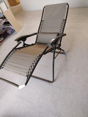 Zero Gravity Lawn Chair for Sale in Phoenix, AZ