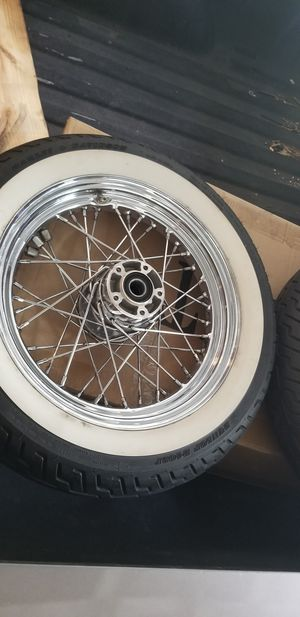 Harley davidson stock wheel for Sale in Humble, TX