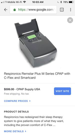 CPAP REMstarAuto m series for Sale in San Diego, CA