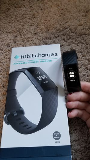 Fitbit charge 3 for Sale in Martinsville, IN