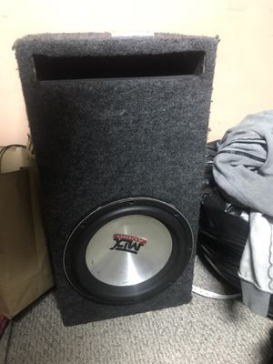 MTX 8500 12 (Subwoofer will be sold without box) for Sale in Portland, OR