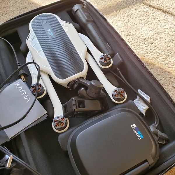 Gopro Karma Full Set and extra !!