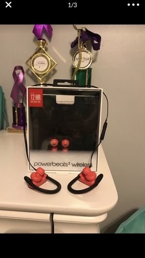 Powerbeats 3 wireless headphones for Sale in Weston, FL