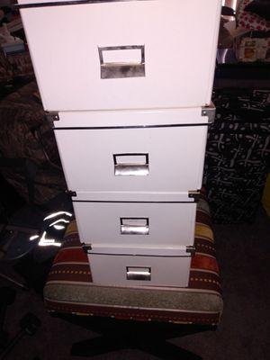 4 small cardboard boxes for Sale in Alexandria, VA