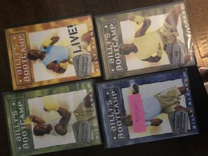 Billy Blanks dvd wort out set for Sale in Scottsdale, AZ