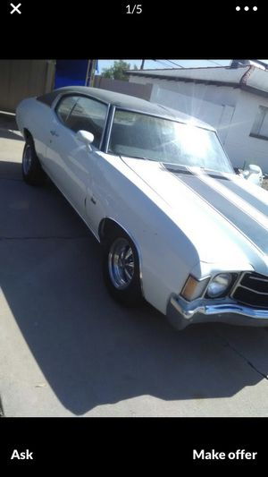 72 chevelle for Sale in Phoenix, AZ