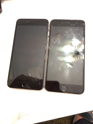 2 iPhone 6s Plus 64gb for Sale in Houston, TX