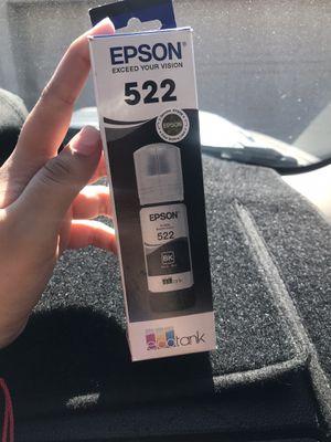 Epson ink 522 for Sale in Phoenix, AZ