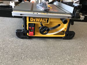 "Dewalt DwE7490 10"" Table Saw, New #11792-1 for Sale in Revere, MA"