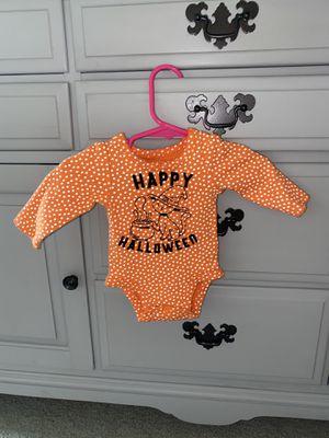 Custom Halloween onesie size newborn for Sale in Le Raysville, PA