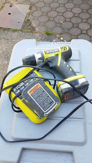 """Ryobi 12V ...3/8"""" drill for Sale in Cottage Grove, OR"""