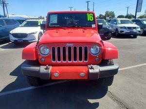 2016 Jeep Wrangler 4WD for Sale in Phoenix, AZ